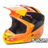 Helmet Fly Kinetic Elite Onset Orange/Yellow