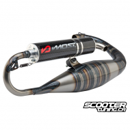 Exhaust System Most Wicked Carbon 70cc