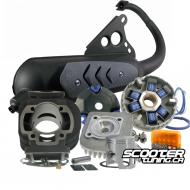 Engine Package Polini Sport 70cc (Pre-Bug Zuma)