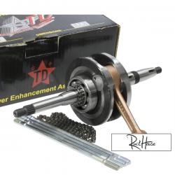 Crankshaft Taida Racing 66mm Stroke 4V (8200) for GY6 125-150cc