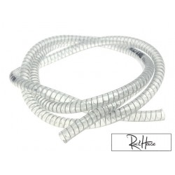 Coolant hose Motoforce, transparent 9x15mm 1 meter
