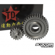 Secondary Gear Kit Taida 16/37 +25% for GY6 125-150cc