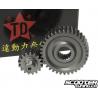 Secondary Gear Kit Taida 16/37 +25% for GY6 125-150cc