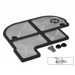 Tail Plate Cover TRS Black Honda Ruckus