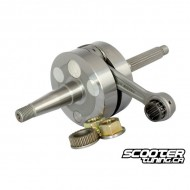 Crankshaft MHR TEAM 70cc, 39.3mm stroke/85mm conrod (Piaggio)