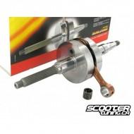 Crankshaft MHR RHQ 70cc, 39.2mm stroke/85mm conrod (Piaggio)
