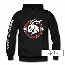 Hoody ScooterTuning Team Red