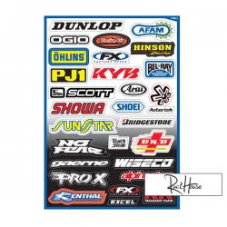 Sticker kit FX Sponsor (A)
