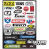 Sticker kit FX Sponsor (C)