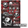 Sticker kit FX Metal Mulisha (A)