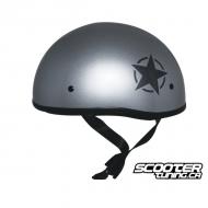 Helmet ZOX Mikro ''Old School'' (Lonestar) Silver