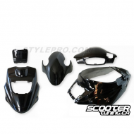Complete Fairing kit PGO Bigmax Black