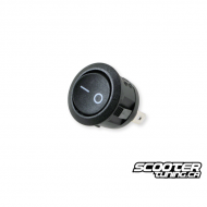Switch round black universal (20mm)