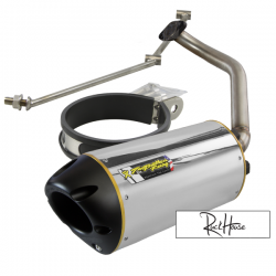 Exhaust Two Brothers Racing Aluminium Fatty GY6 125-180cc