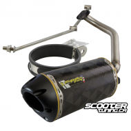 Exhaust Two Brothers Racing Carbon (GY6)