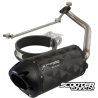 Exhaust Two Brothers Racing Carbon Black (GY6)