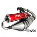 Exhaust System Voca Sabotage Red Minarelli Vertical