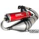 Exhaust System Voca Sabotage Red