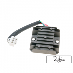 Regulator / Rectifire 5-pins Type 1 incl. Wire for GY6 50-150cc