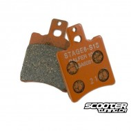 Front Brake Pads Stage6 Racing (Typhoon)