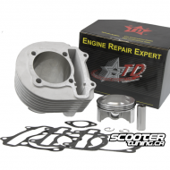4V Ceramic Cylinder Taida 232cc Forged Piston (67mm)