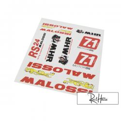Malossi sticker set