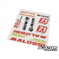 Malossi sticker set
