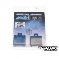 Front Brake Pads Polini Organic (SR50)