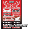 Sticker kit FX Honda