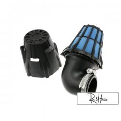 Air filter Polini Short 90° Black (48mm)