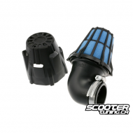 Airfilter Polini Short 90° Black (50mm)