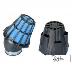 Air filter Polini Short 30° Black (48mm)