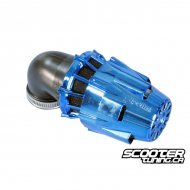 Airfilter Polini Short 90° Blue (37mm)