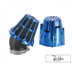Air filter Polini Short 30° Blue (37mm)