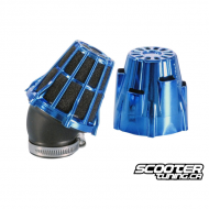 Airfilter Polini Short 30° Blue (37mm)