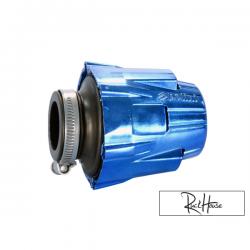 Air filter Polini Short Straigh Blue (37mm)