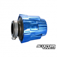 Airfilter Polini Short Straigh Blue (37mm)