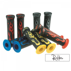 Handlebar Grips Str8 Flame