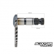 Kickstart Shaft (48mm/22mm) for GY6 50cc 139QMB/QMA
