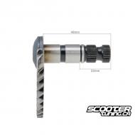Kickstart Shaft (48mm/22mm) for GY6 50cc 139QMB/QMA