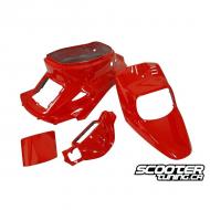 Complete Fairing Kit STR8 red