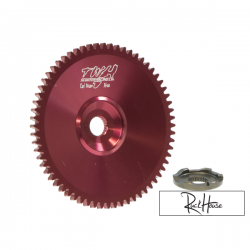 Front Pulley Dio ZX Red