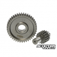 Secondary gear kit 17/41 (Dio 90-110cc)