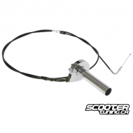 Single Throttle Cable Kit Bws-Zuma 2002-2011 (195cm)