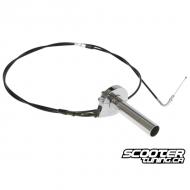 Single Throttle Cable Kit Bws-Zuma 2002-2011 (195cm)