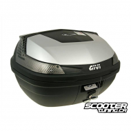 Top Case Givi B47 Blade Tech Monolock Silver 47L