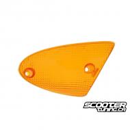 Right front indicator light lens Amber (SR50 Minarelli)