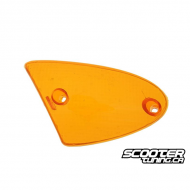Left front indicator light lens Amber (SR50 Minarelli)