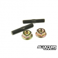 Exhaust Stud Bolt set M6x32mm