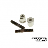 Exhaust Stud Bolt set Naraku M6x32mm